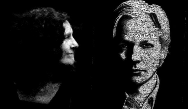 Christine & Julian Assange