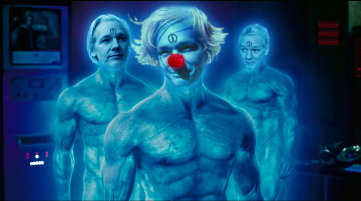 Doctor Manhattan-Assange