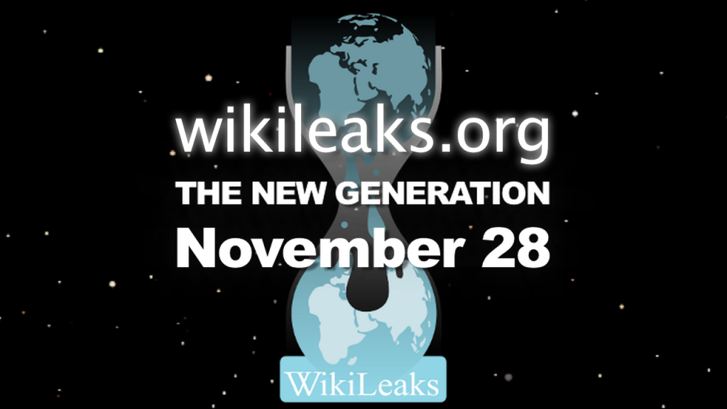 Wikileaks - The New Generation - 28th November 2011